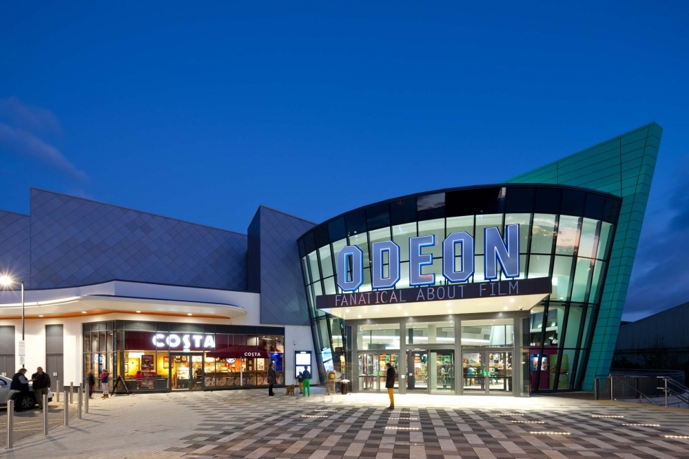 Odeon Trowbridge Glass and Curtain Walling